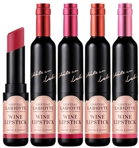 Labiotte Chateau Fitting Wine Lip Stick