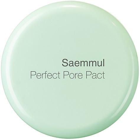 The Saem Saemmul Perfect Pore PactПудра, способная скрыть расширенные поры и матировать кожу, а также обеспечить ей необходимый увлажняющий уход &amp;ndash; это Saemmul Perfect Pore Pact, продукт от The Saem. Но в основу косметической формулы легли природные компоненты, приносящие не только красоту, но и здоровье.<br><br>Увлажняющим свойством обладает березовый сок. Он, кроме того, наполняет клетки кожи витаминами и минералами своего состава, а значит, помогает тонизировать и оздоравливать дерму. Увлажняющим свойством наделена розовая вода. Она берет на себя также восстановительную функцию, благодаря чему быстрее идут процессы регенерации, происходит обновление и омоложение кожи.<br><br>Содержится в составе пудры и вытяжка из листьев чайного дерева. Она &amp;ndash; антисептик, созданный природой, а также мощный антиоксидант. Масло камелии смягчает кожу.<br><br>Состав также обогащен минеральными частицами, которые обеспечивают сияющий и очень стойкий макияж. Эти молекулы имеют свойство отражать свет, поэтому ваша кожа станет светиться красотой и здоровьем.<br><br>&amp;nbsp;<br><br>Объём: 12 г<br><br>&amp;nbsp;<br><br>Способ применения:<br><br>Пудра &amp;ndash; завершающий этап макияжа. Используя подушечку, ее нужно нанести на лицо аккуратными движениями.<br>