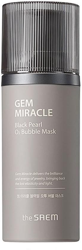 The Saem Gem Miracle Black Pearl O Bubble Mask