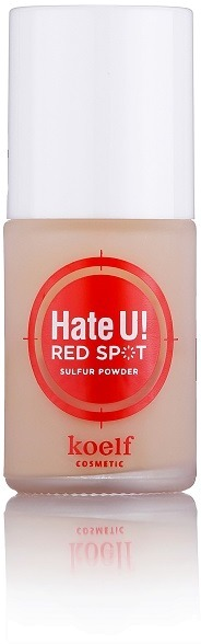 Точечная пудра для покраснений Koelf Hate U Red Spot Sulfur Powder