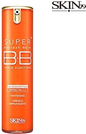 Skin Super Plus Triple Functions Vital BB Cream Hot Orange.