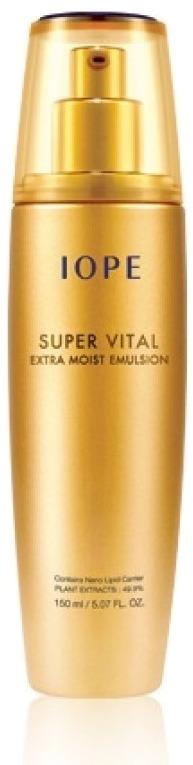 Iope super vital extra moist emulsion фото