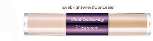 Консилер для кожи вокруг глаз Berrisom Oops Dual Contouring 02. Eye brightening & Concealer