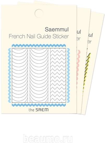 Стикеры для французского маникюра The Saem French Nail Guide Sticker