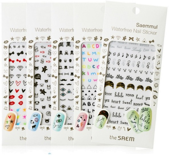 The Saem Saemmul Waterfree Nail Sticker фото