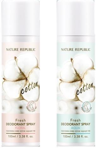 Nature Republic Fresh Deodorant Spray