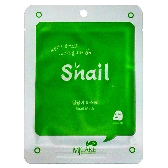 Mijin Cosmetics Mj Care Snail Mask.
