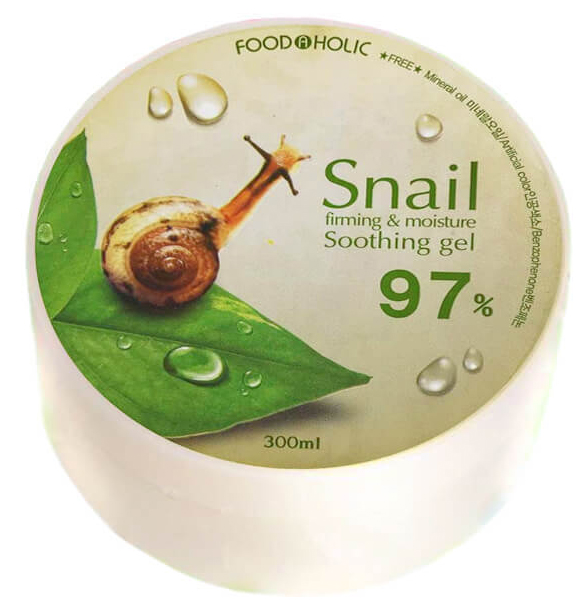 FoodaHolic Snail Firming and Moisure Soothing Gel
