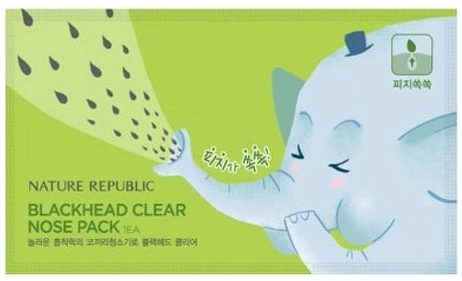 Nature Republic Blackhead Clear Nose Pack фото