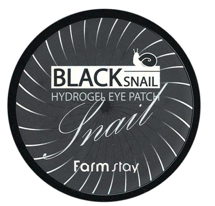 Farmstay Black Snail Hydrogel Eye Patch фото