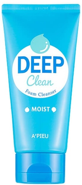 Купить Apieu Deep Clean Foam Cleanser Moist, A'Pieu