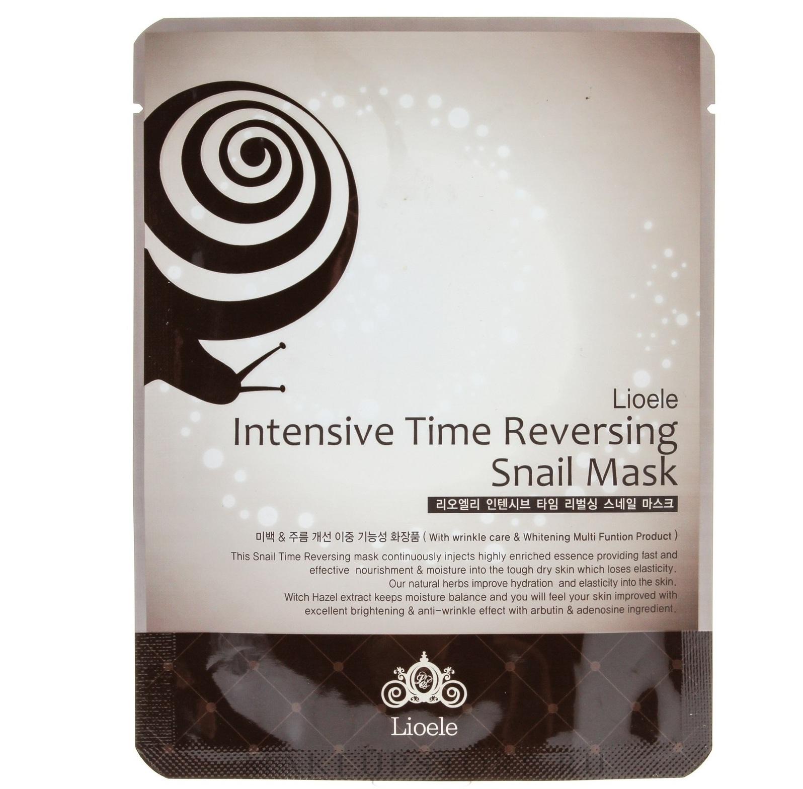 Lioele Intensive Time Reversing Snail Mask