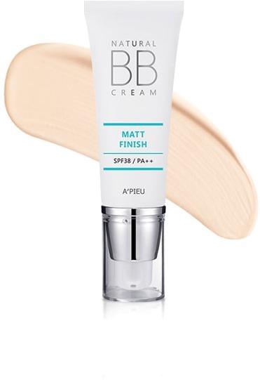 APieu Natural Matt Finish BB Cream