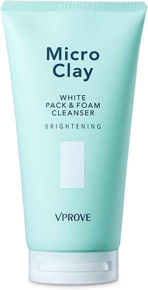 Vprove Micro Clay White Pack And Foam Cleanser Brightening фото