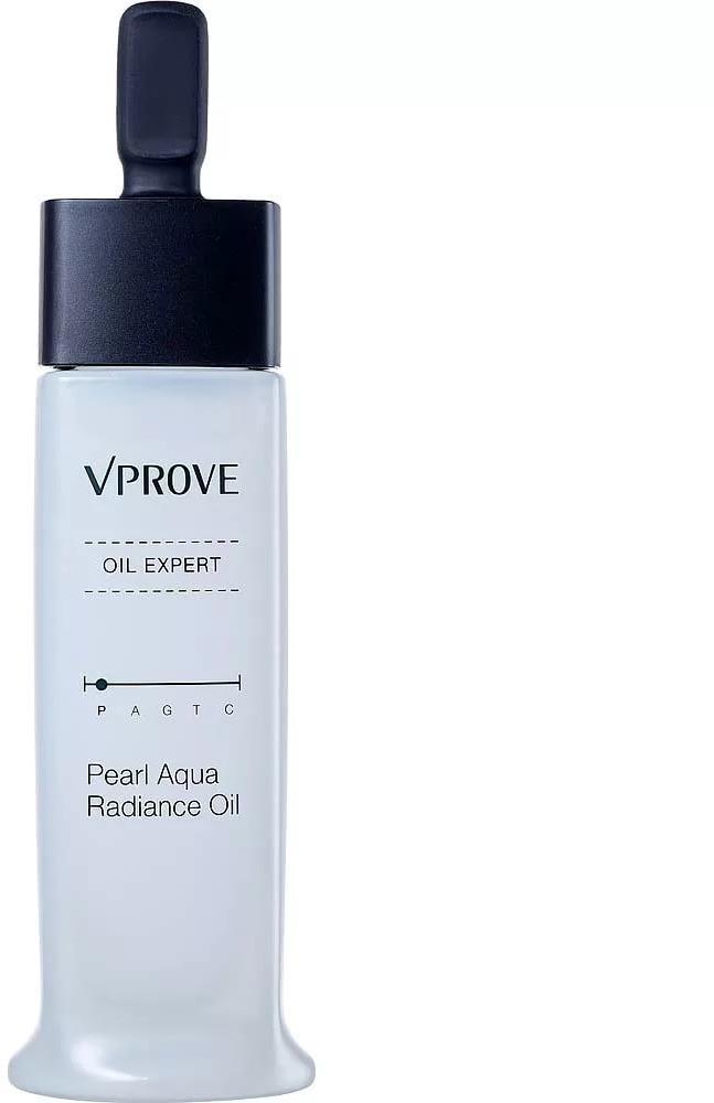 Vprove Oil Expert Pearl Aqua Radiance OilМасло для сияния кожи моментально придает ей отдохнувший и свежий вид, как будто вы только что вернулись с отпуска вблизи океана. Секретный ингредиент, обеспечивающий столь мощный эффект &amp;ndash; жемчужная пудра. Ее микрочастички покрывают лицо тончайшим слоем, и подсвечивают его благодаря отличным светоотражающим свойствам. Так называемый &amp;laquo;эффект хайлайтера&amp;raquo; позволяет вам лучше выглядеть на фотографиях и сохранять кожу визуально свежей, юной и сияющей целый день.<br><br>Кроме перламутрового экстракта в составе масла есть:<br><br><br>портулак &amp;ndash; это увлажняющий растительный компонент и масло подсолнуха для питания кожи и профилактики шелушений;<br>гидролизованный коллаген хорошо усваивается кожей и снимает признаки обезвоживания, сохраняя баланс влаги;<br>гиалуроновая кислота отвечает за усиленное увлажнение, благодаря ей мелкие морщинки разглаживаются, а большие становятся менее заметными.<br><br><br>&amp;nbsp;<br><br>Объём: 30 мл.<br><br>&amp;nbsp;<br><br>Способ применения:<br><br>Наносите масло вместо дневного крема или праймера, распределяя его пипеткой по коже лица. Спустя три минуты после впитывания наносите тональную основу или ББ-крем.<br>