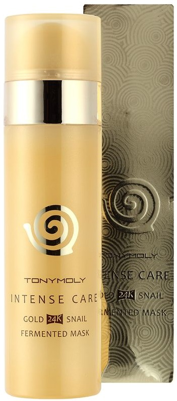 Tony Moly Intense Care Gold K Snail Fermented Mask фото