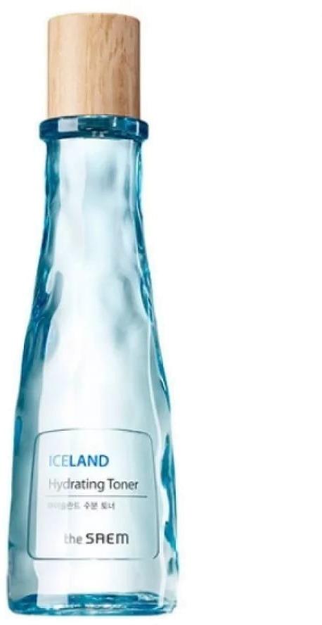 The Saem Iceland Hydrating TonerМинеральный тонер для увлажнения &amp;ndash; отличный способ напитать обезвоженную, сухую кожу. Главный ингредиент в составе тонера &amp;ndash; минеральная вода Исландии, дополнительные &amp;ndash; экстракты черники, исландского мха и бурых водорослей, а также гиалуроновая кислота.<br><br>Использовать тонер необходимо перед применением других косметических средств, он поможет увлажнить кожу, убрать ороговевшие клетки, запустить процесс регенерации.<br><br>О чистоте исландских вод давно известно всему миру. Вода фильтруется естественным путем, так как добывается из недр вулкана. Туда она попадает, стекая с тающих ледников. Исландская вода полна кислорода, который не пропадает даже после размораживания.<br><br>Одним из секретов тонера, является технология, примененная при его создании. Она заключается в насыщении активных компонентов тонера гиалуроновой кислотой, которая интенсивно разглаживает верхний слой кожи, после чего проникает вглубь, положительно влияя на эпидермис.<br><br>Тонер легко справляется с сухостью кожи и морщинами, делая кожу упругой и гладкой.<br><br>При частом использовании, особенно совместно с продуктами этой же серии, тонер увлажнит кожу, приведет ее в тонус, сделает здоровой и упругой.<br><br>Подходит для разных типов кожи.<br><br>&amp;nbsp;<br><br>Объём: 160 мл<br><br>&amp;nbsp;<br><br>Способ применения:<br><br>Для нанесения тонера использовать ватный диск., нанести с его помощью тонер на очищенную кожу лица.<br>