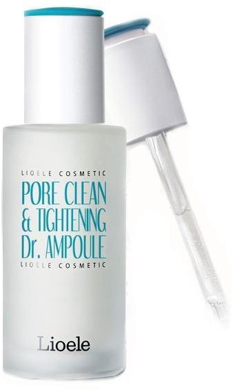 Lioele Pore Clean amp Tightening Dr Ampoule Pore ControlДанная сыворотка является интенсивным ухаживающим средством за жирным, проблемным и комбинированным типами кожи с наличием таких несовершенств, как высыпания, неопрятный блеск и широкие поры. Продукт имеет невесомую текстуру, которая супербыстро проникает в эпидермис, насыщая его необходимыми элементами. В содержание сыворотки включены такие ингредиенты, как цинк, пептиды и вытяжка гамамелиса. Пептиды обладают комплексным оздоравливающим эффектом на проблемную кожу, устраняя воспаления, камедоны и оказывая деликатное отшелушивающее действие. Вытяжка гамамелиса обладает вяжущими и успокаивающими свойствами, что позволяет сузить поры, также устранить раздражения. Цинк препятствует образованию акне, а также оказывает балансирующее действие, делая кожу матовой. Использование продукта поможет избавиться от ключевых неприятностей проблемной кожи и сделать ее красивой, ухоженной и матовой. Идеальная кожа &amp;ndash; это легко, благодаря этой сыворотке от корейской марки Lioele!<br><br>&amp;nbsp;<br><br>Объём: 40мл<br><br>&amp;nbsp;<br><br>Способ применения:<br><br>Продукт рекомендуется наносить на лицо после каждого вечернего и утреннего этапов очищения.<br>