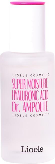 Lioele Super Moisture Hyaluronic acid Dr AmpouleДанная сыворотка является интенсивным ухаживающим средством за нормальным, комбинированным, сухим и чувствительным типами кожи. Она имеет гелевую приятную текстуру, которая супербыстро впитывается в эпидермис, насыщая каждую его клеточку необходимой влагой. Всесторонний положительный эффект на кожу обеспечивается за счет содержания в продукте исключительно активных компонентов. Ключевым компонентом в составе средства является гиалуроновая кислота, обеспечивающая сильнейший увлажняющий эффект на эпидермис, поддерживая идеальный уровень влаги в ее клеточках на длительный этап времени, а также разглаживая мимические морщинки. Включение в состав продукта дополнительных ингредиентов в виде аденозина, растительных вытяжек, а также олигопептидов позволяет интенсивно напитать кожу, восстановить уровень ее тонуса и эластичности. Курсовое применение представленного средства позволяет оказать комплексное положительное действие на эпидермис, устранить возрастные признаки и сделать его рельеф гладким, шелковистым и сияющим. Побалуйте вашу кожу интенсивным уходом активного действия, применяя эту увлажняющую сыворотку от бренда Lioele!<br><br>&amp;nbsp;<br><br>Объём: 40 мл<br><br>&amp;nbsp;<br><br>Способ применения:<br><br>Продукт рекомендуется наносить на лицо после каждого вечернего и утреннего этапов очищения.<br>