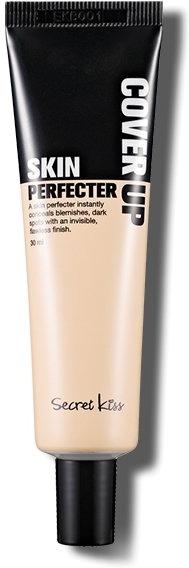 Secret Key Cover Up Skin PerfecterМожно об идеальной коже лишь мечтать. А можно использовать Cover Up Skin Perfecter, уникальное тональное средство от Secret Key, и наслаждаться совершенством. Мечты об идеальной коже становятся реальностью, потому что это не просто ВВ, это удивительное по своей действенности ухаживающее средство.<br><br>Итак, в составе крема целебные экстракты, поистине, творящие чудеса. Так вытяжка из растения центелла азиатская &amp;ndash; это мощное противовоспалительное, успокаивающее, омолаживающее и заживляющее ранки средство. Портулак поддерживает действие центеллы, а еще защищает кожу от негативных влияний большого города.<br><br>Экстракт ромашки и аллантоин становятся противогрибковым, бактерицидным и восстанавливающим целостность покровов эпидермиса комплексом. А ниацинамид и аденозин выравнивают тон и осветляют кожу. Они помогают избавиться и от веснушек, и от кругов под глазами.<br><br>Поверьте в идеальную кожу. Используйте Cover Up Skin Perfecter.<br><br>&amp;nbsp;<br><br>Объём: 30 мл<br><br>&amp;nbsp;<br><br>Способ применения:<br><br>Наносите ВВ-покрытие на лицо и распределите равномерно по коже.<br>