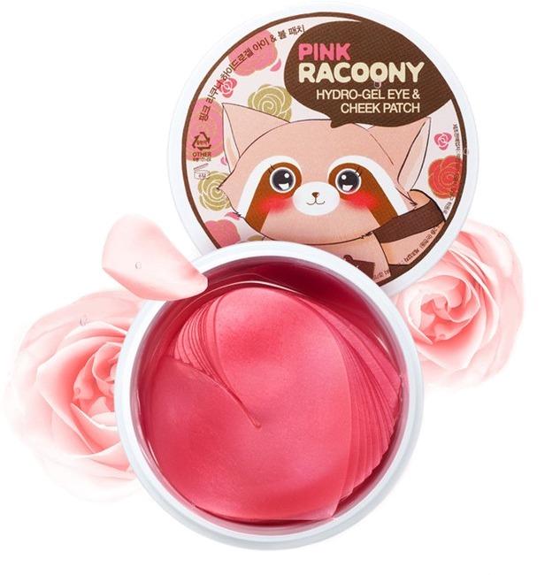 Патчи для век и щек Secret Key Pink Racoony HydroGel Eye and Cheek PatchУсовершенствованная версия полюбившихся всему миру патчей Secret Key с енотиком на упаковке! Выполненные в форме сердец, эти патчи идеально прилегают ко коже и обладают манящим ароматом роз. Каждое сердечко Pink Racoony HydroGel Eye and Cheek Patch обильно смочено питающей эссенцией, благодаря чему кожа получает все необходимые витамины и минералы на протяжении долгого времени.<br>&amp;nbsp;Розовая вода в составе оказывает интенсивный лифтинг-эффект. Она насыщает клетки коллагеном, благодаря чему кожа приходит в тонус, разглаживаются мелкие морщинки и появляется естественное сияние.<br>&amp;nbsp;Экстракт восточной розы увлажняет и успокаивает кожу, снимает покраснения и тонизирует, дарит свежесть и бархатистость.<br>&amp;nbsp;Ещё одним интересным компонентом стал синтез золота, который наполняет клетки кислородом и выводит из них токсины, а также помогает питательным веществам попасть прямо по назначению.<br><br>Объём: 60 шт.<br><br>&amp;nbsp;<br><br>Способ применения:<br><br>Плотно наложить на область щек, век и над губами, оставить на 30 минут.<br>