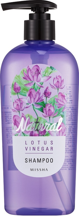 Восстанавливающий шампунь Missha Natural Lotus Vinegar Shampoo