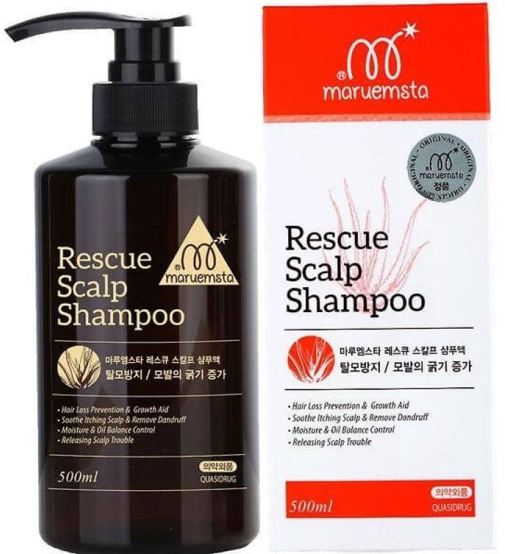 Mstar Rescue Scalp ShampooRescue Scalp Shampoo отбренда Mstar &amp;ndash; это шампунь комплексного воздействия, сокращающий излишнее выпадение волос и активизирующий их рост. Шампунь сертифицирован, абсолютно безопасен и имеет все подтверждающие высокое качество документы.<br><br>Выпадение волос не редкая проблема, сложно поддающаяся корректировке. Этот шампунь дарит волосам глубокое очищение, к тому же его компоненты имеют свойство проникать в труднодоступные клетки кожи и корни волос, устраняя главную причину выпадения волос &amp;ndash; грибки и перхоть. К очищенной коже и волосам легче поступают питательные элементы, укрепляя волосы изнутри.<br><br>&amp;nbsp;Благодаря комплексу витаминов и растительных экстрактов&amp;nbsp; шампунь оказывает длительное воздействие: устраняет зуд кожи головы, оказывает необходимую профилактику и лечение истончения и выпадения волос.&amp;nbsp; Сочетание 12 натуральных компонентов восточных трав и растений обеспечивают усиленное кровообращение и питание корней волос, тем самым волосы сохраняют необходимую влагу, быстрее растут, регулируется&amp;nbsp; работа сальных желез, волосы наполнены силой и энергией, становятся ухоженными и густыми.<br><br>Объем: 500мл.<br><br>Способ применения:<br><br><br>На увлажненную кожу головы и волосы нанесите шампунь, распределив его равномерно по всей длине прядей, вспеньте.<br>Проведите легкий массаж головы, это улучшит кровообращение, а также поможет компонентам шампуня проникнуть в более глубокие слои кожи и волос.<br>Тщательно смойте средство чуть менее прохладной водой, это поможет чешуйкам волос закрыться, тем самым волосы будут более сглажены и менее подвержены загрязнению.<br>Для усиления эффекта рекомендуется применять шампунь в комплексе с укрепляющим тоником Energizing Hair Tonic.<br>Шампунь не следует применять на поврежденных зонах с дерматитом, экземой, ссадинами или ранениями.<br>