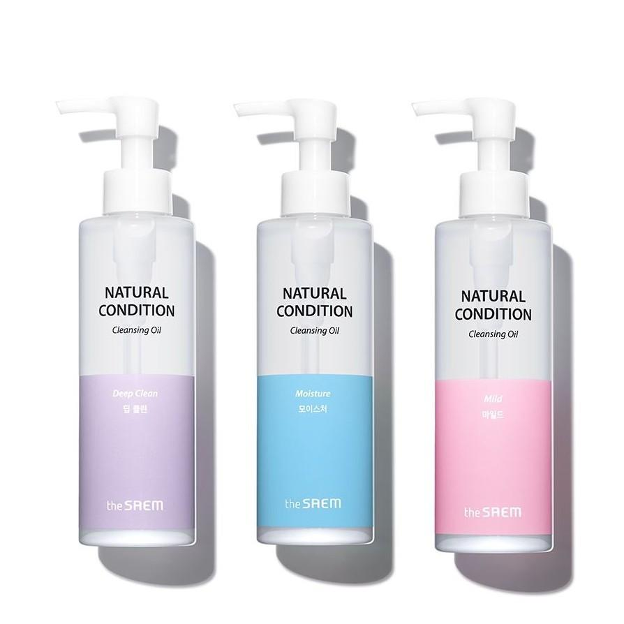 The Saem Natural Condition Cleansing Oil фото