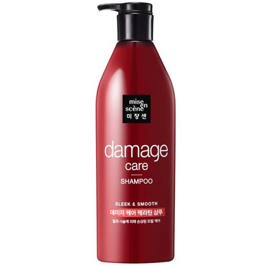 Восстанавливающий шампунь для поврежденных волос MISE EN SCENE  DAMAGE CARE SHAMPOO