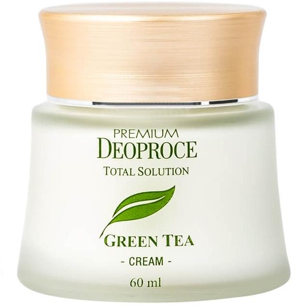 C Deoproce Green Tea Total Solution Cream фото