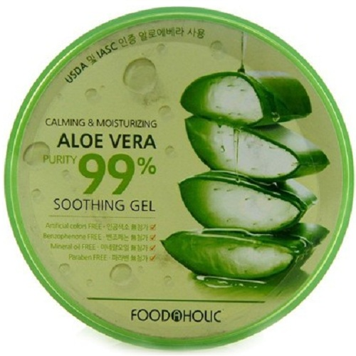 FoodaHolic Calming and Moisturizing Aloe Vera Soothing gel фото