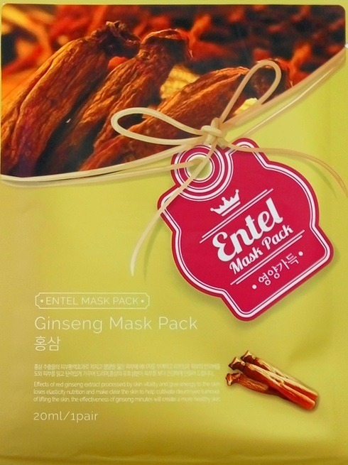 Entel Ginseng Mask Pack фото