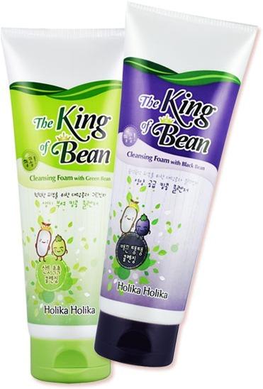 Holika Holika King Of The Beans Foam Cleansing with Greenbean фото