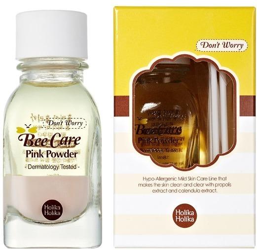 Holika Holika Dont Worry Bee Care Pink powder