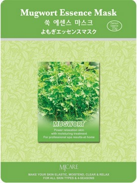 Mijin Cosmetics Mugwort Essence Mask фото