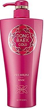 Missha Dong Baek Gold Premium Rinse фото