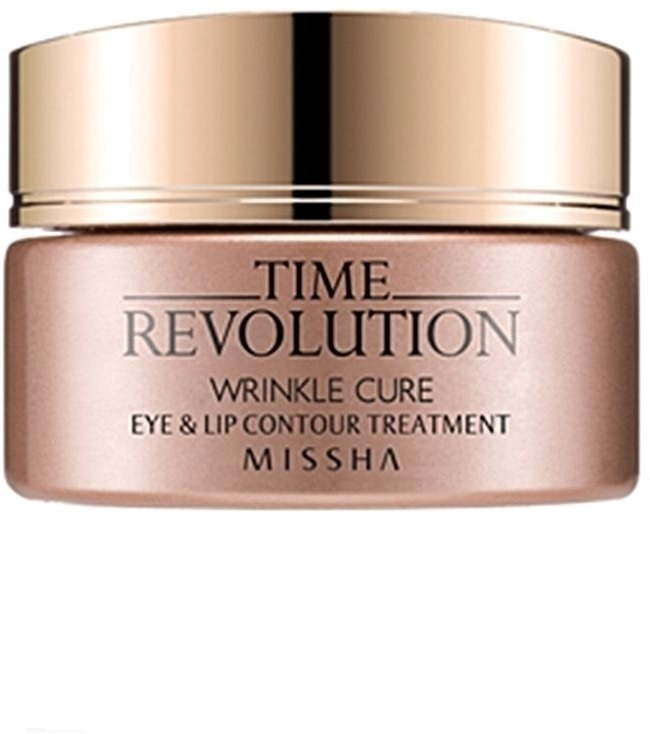 Missha Time Revolution Wrinkle Cure Eye -  Для лица