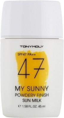 SPF Tony Moly My Sunny Powdery Finish Sun Milk SPF фото