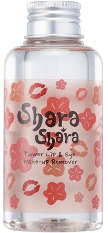 Shara Shara Flower Lip  Eye Makeup Remover.