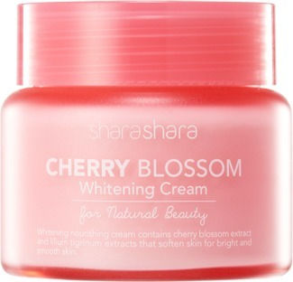 Shara Shara Cherry Blossom Brightening Cream.