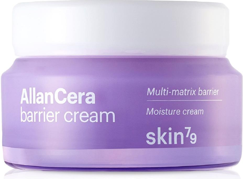 Skin Allancera Barrier CreamКрем для лица Allancera Cream &amp;ndash; еще один продукт от косметического бренда Skin79 на основе экстракта моринги. Он направлен на комплексный уход за кожей лица. Экстракт моринги глубоко проникает в клетки, за счёт чего и достигается его эффект - защита кожи. Благодаря данному компоненту крем способен быстро заживлять ранки на лице и предотвращать появление воспалений, покраснений и шелушений. При использовании крема кожа мягкая, гладкая и сияющая.<br><br>Ещё один важный компонент в составе крема - аллантоин, который отлично успокаивает кожу и защищает ее от воздействия погоды.<br><br>Allancera Barrier представлен в стандартной упаковке для данной линейки. Текстура продукта очень мягкая, она легко наносится, распределяется и быстро впитывается, поэтому можно сказать, что уход не только не доставляет ни малейшего дискомфорта, но и достаточно приятный.<br><br>Подходит крем даже для обладательниц чувствительной кожи, поскольку его действия направлены именно на устранения излишней чувствительности и защиту кожи.<br><br>&amp;nbsp;<br><br>Объём: 55 мл.<br><br>&amp;nbsp;<br><br>Способ применения:<br><br>Умыть лицо водой и нанести небольшое количество крема. При желании можно использовать крем вместе с тонером или лосьоном из данной линейки.<br>