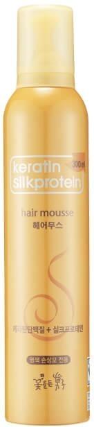 Flor de Man Keratin Silkprotein Hair Mousse.