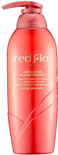 Flor de Man Redflo Camellia Hair Glazing Essence.