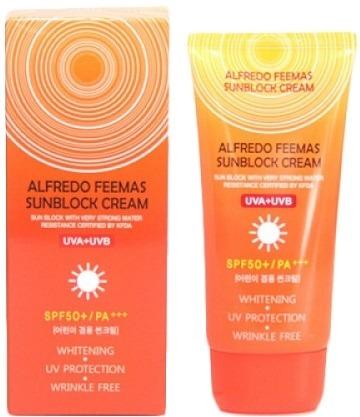 SPFPA Lunaris Alfredo Feemas Sunblock Cream SPFPA