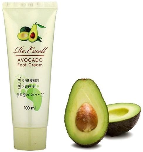 W Clinic Avocado Foot Cream