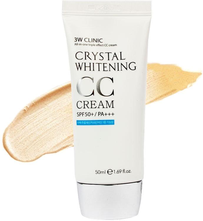 W Clinic Crystal Whitening CC Cream SPF PA