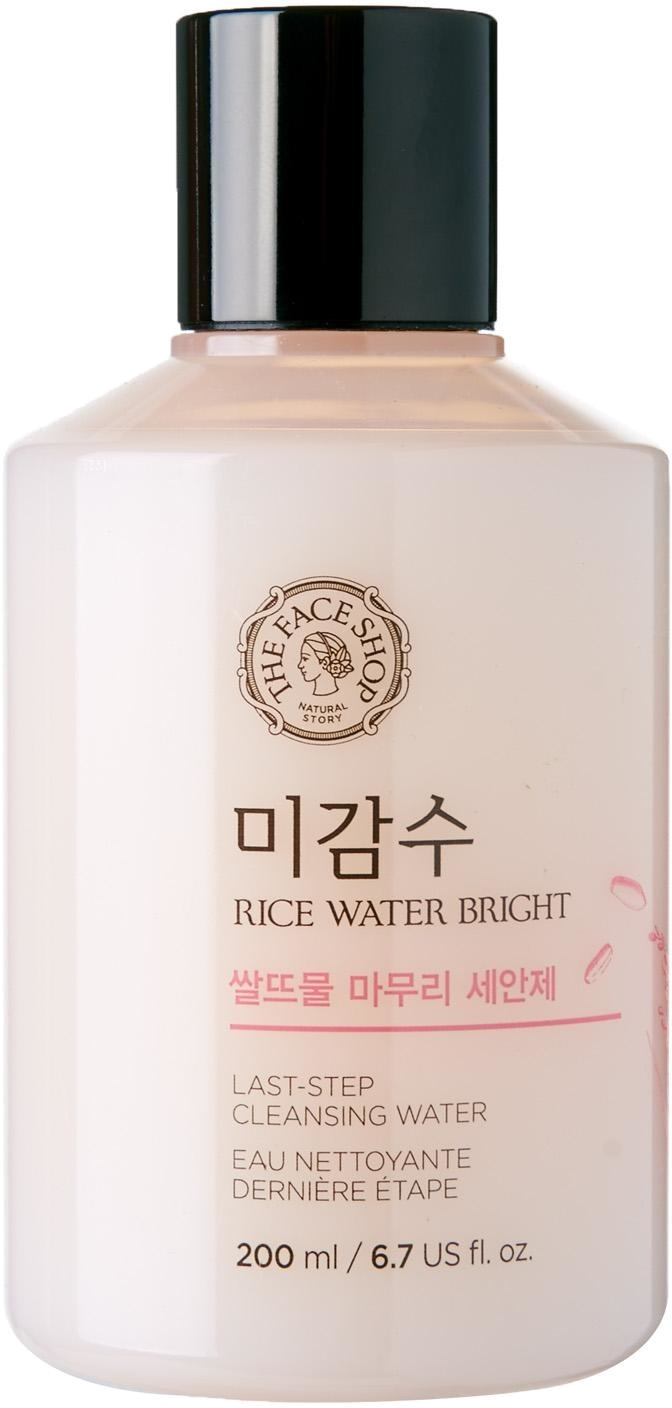 The Face Shop Rice Water Bright LastStep Cleansing Water -  Для лица