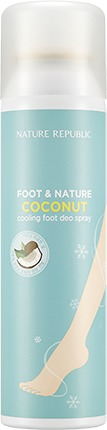 Nature Republic Foot And Nature Coconut Cooling Foot Deo Spray фото