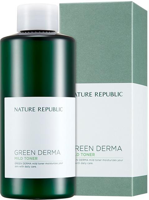 Nature Republic Green Derma Mild Toner фото