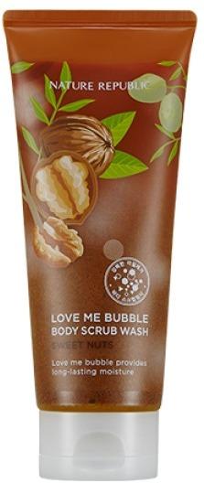 Nature Republic Love Me Bubble Body Scrub